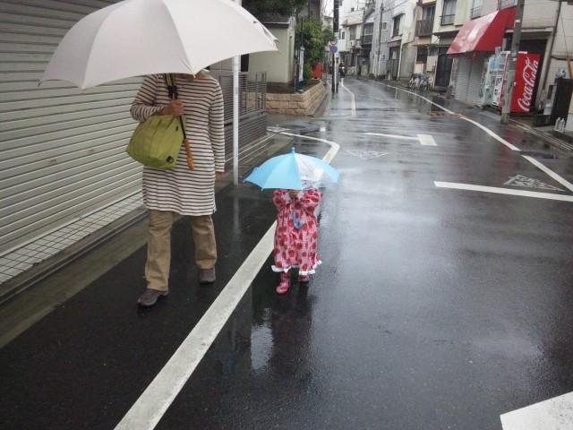 子供 傘 何歳から させる