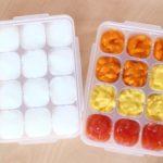 離乳食が製氷皿から取れない?スッキリ簡単に取れる4つの方法!
